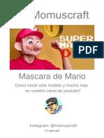 Máscara de Mario