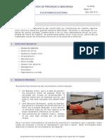 FPS 55 - Plataformas Elevatórias Ed01