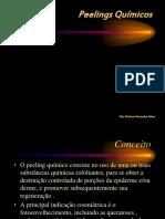 Peelings Químicos. Dra Dolores Gonzalez Fabra