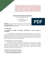 Proposta Projeto PPGTE Modelo 2019-20