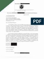 histleblower Complaint