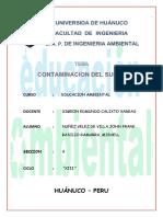 Contaminacion Del Suelo (Educacion Ambiental)