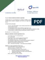 Program Workshop OpenAIRE
