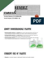 Biodegradable Plastic Bags