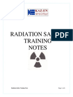 Kazen Radiation Safety Training Notes Russian