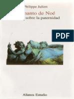 Philippe Julien - 1991 - El Manto de Noé. Ensayo Sobre La Paternidad