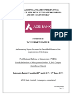 Axis Bank- Internship Report-PDF
