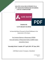 Axis Bank- Internship Report-PDF