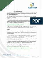 Kleemann lifts provide 2 BREEAM credits