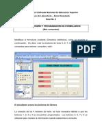 Creación, Diseño y Programación de Formularios