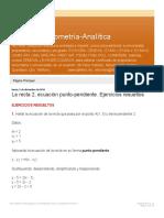 Ab-Fénix-Geometría-Analítica_ La recta 2 ecuación punto-pendiente Ejercicios r