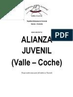 Documento Alianza Juvenil