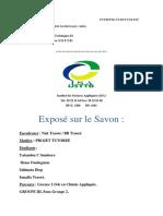Expose Sur Le Savon
