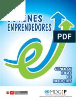 Manual Jóvenes Emprendedores Generan Ideas de Negocios