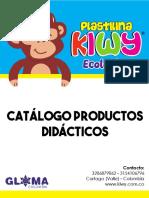 CATÁLOGO PRODUCTOS DIDÁCTICOS