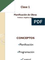 Clase 1 Planificación