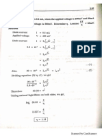 EC - 8351 Electron Devices and Circuits Unit - 1 Problems