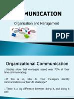 Communiction in Orgnization Management