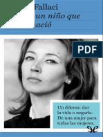 Fallaci, Oriana - Carta a un nino que nunca nacio [4136] (r1.1).epub