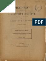 MIE 26 Wiet, Gaston - L'Épigraphie Arabe de l'Exposition d'Art Persan Du Caire (1935) LR