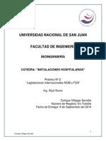 Universidad Nacional de San Juan Practico 2 Nom FDA