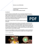 Difracción de electrones en red policristalina