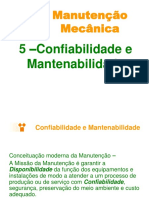 5 - Confiabilidade e Mantenabilidade