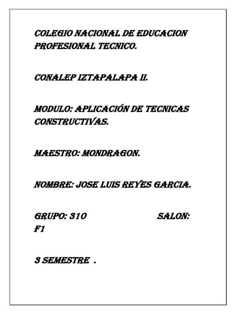 Colegio Nacional De Educacion Profesional Tecnico