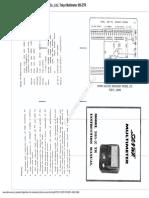 Sanwa 305Z TR Multimeter Specs & Schematic