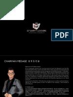 G7 Company Profile Design