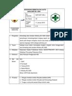 Penggunaan Hematologi Auto Analizer Bc 3200