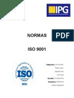 Las normas ISO INFORME.docx