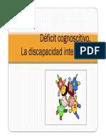 1 Deficit Cognoscitivo. Discapacidad Intelectual [Modo de Compatibilidad]