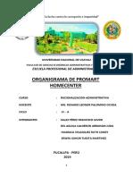 organigrama de promart homecenter.docx