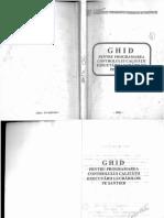 Ghid Pt Programarea Controlului Calitatii Exect Lucr Pe Santier 2003