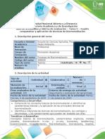 Guía de Actividades y Rúbrica de Evaluación - Tarea 2 - Cuadro Comparativo y Aplicación de Técnicas de Biorremediación
