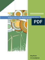 Indikatoren Und Stand or Tin Formation