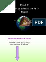Tema 2 Origen y Estructura de La Tierra