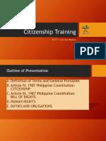 Nstp 1 Common Module Citizenship Training (Ay15-16)