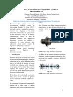 Deformaciones de componentes sometidos a cargas transversales