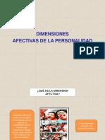 Dimensiones Afectivas y Motivacionales de La Personalidad