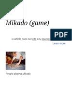 Mikado (Game)