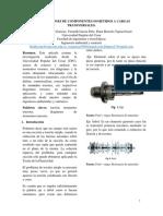 Deformaciones componentes sometidos a cargas transversales