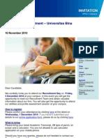 On-Campus Recruitment Binus 3 Des 10
