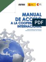 Acceso a la cooperacion internacional