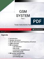 GSM System - Part I