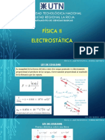 1 FisicaII Electrostatica 1 FuerzaElectrica 2009