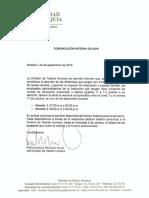 2019 24 09 Comunicación Interna 001