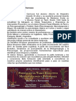 Christophe RichArt Carrozza - Psicomagia Metagenealogía Tarot evolutivo