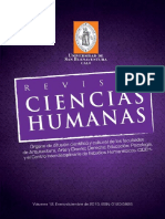 Ciencias Humanas Vol 12